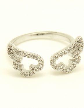 Angyalszárny gyűrű