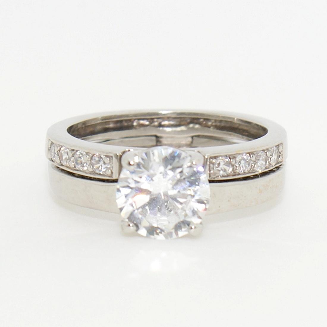 Zsanéros solitair gyűrű